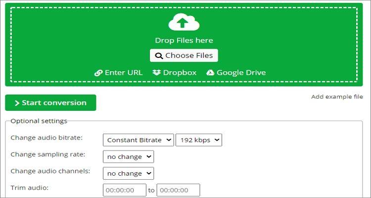 FLAC to OGG Online Converter - OnlineConvert