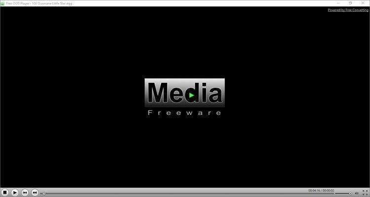 Windows Media Player Alternatives - Free OGG Player