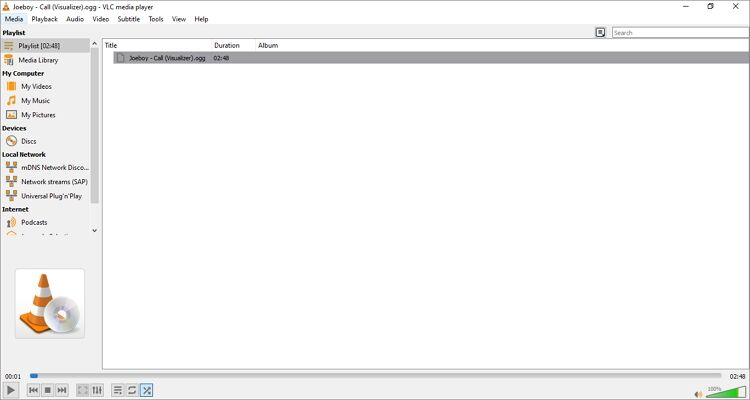 Windows Media Player Alternatives - VLC Media Player