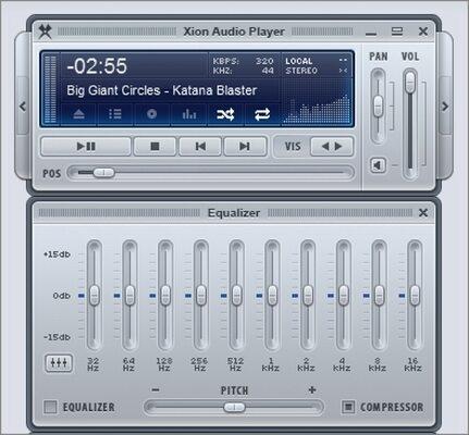 Windows Media Player Alternatives - Xion Audio Player