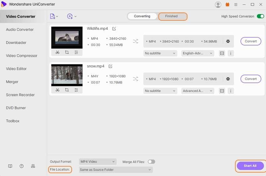 Convert iPad videos to MP4