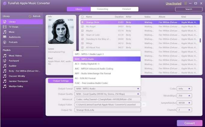 TuneFab Audiobook Converter