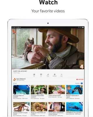 Watch movies on iPad with Youtube