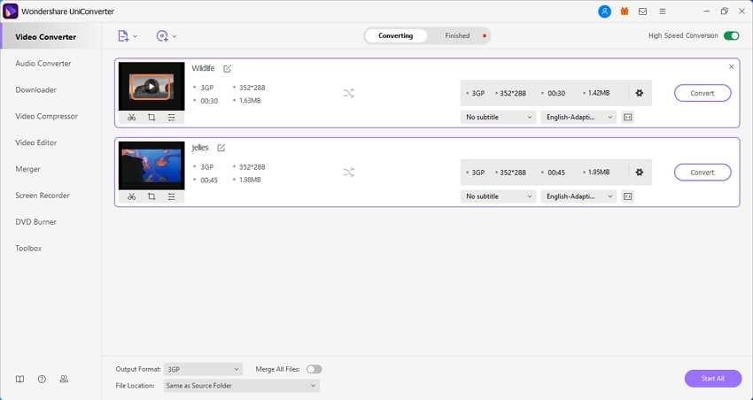 Play 3GP files 1