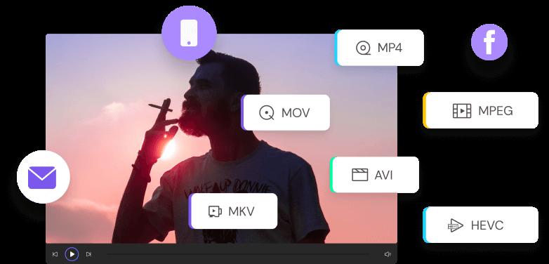 Videos für Email und andere Bedürfnisse komprimieren