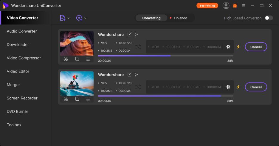 convert multiple videos