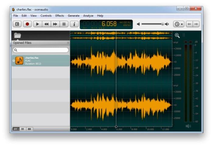 grabadora de audio linux
