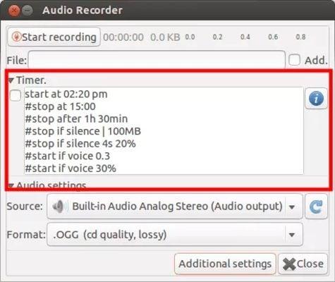 grabadora de audio para pc gratis