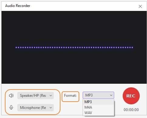 Select recording preferences