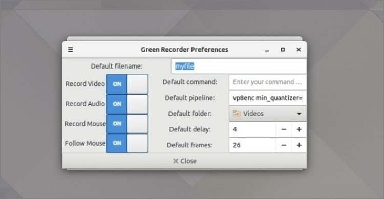 Green Recorder