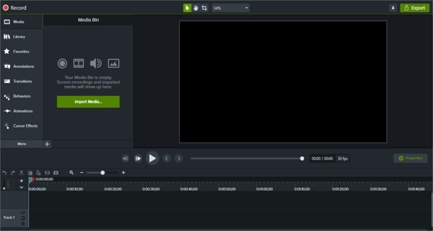 Screen and Video Recording Apps - Camtasia