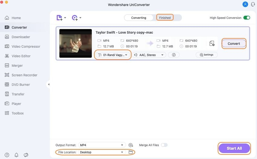 Wondershare Subtitle Tool