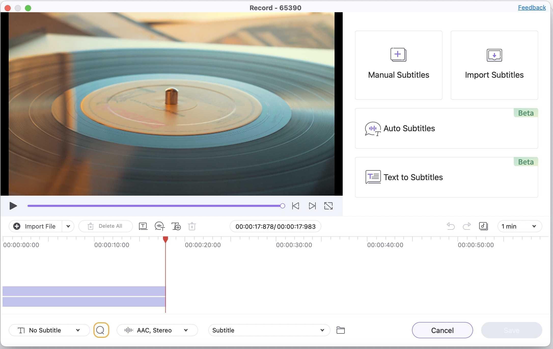 download subtitles by Wondershare UniConverter