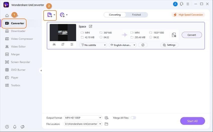 open add subtitle window