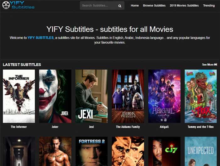 subtitles free download-YIFY Subtitles