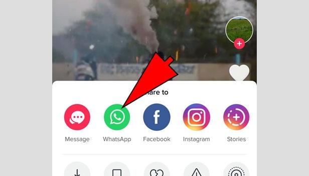 choose WhatsApp