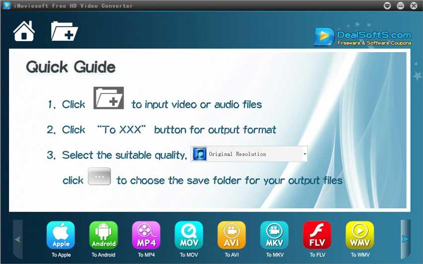 iMovieSoft Free TRP Converter