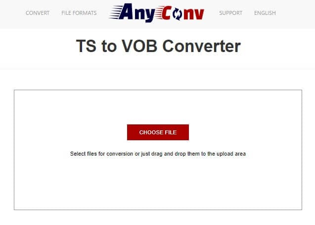 Convert TS to VOB with AnyConv