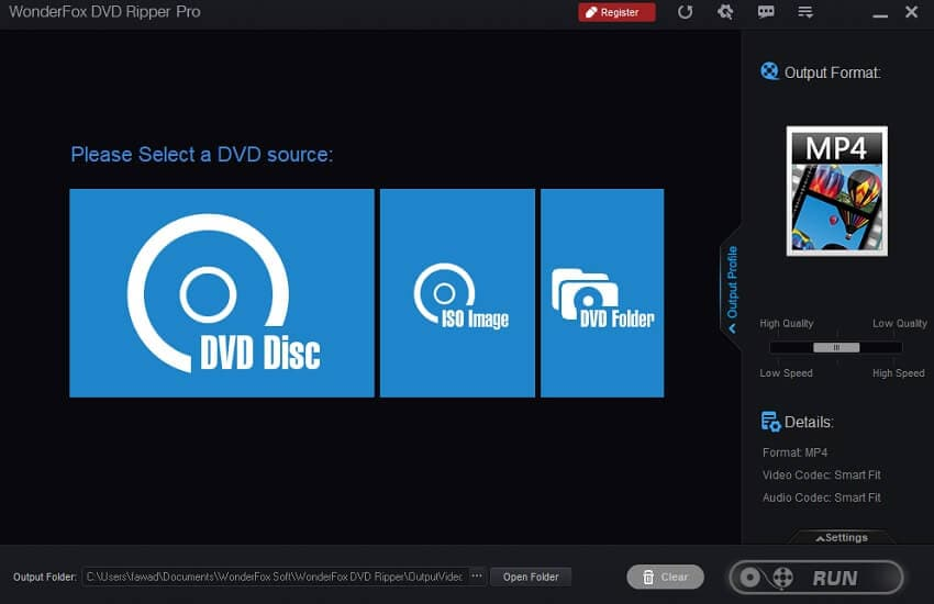 Convert video_ts to ISO with DVDFab