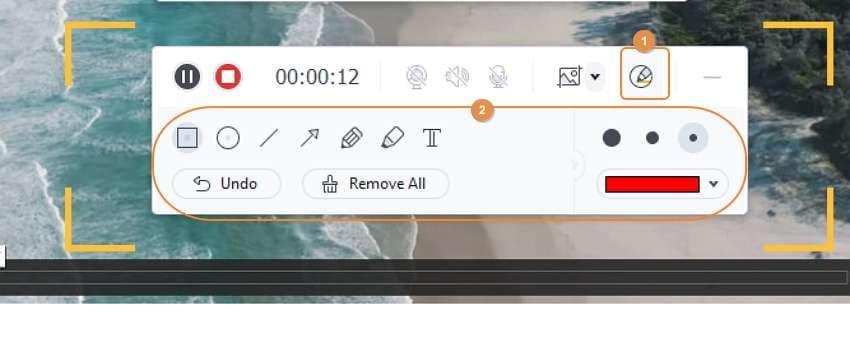 Start recording a video