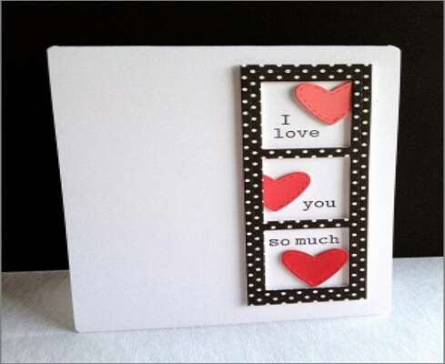 Polka Dotted Cards