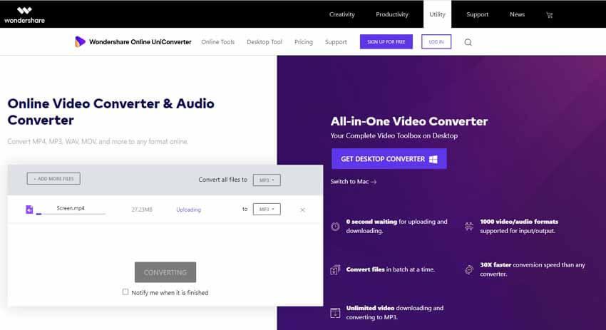 convert vimeo to mp3 online