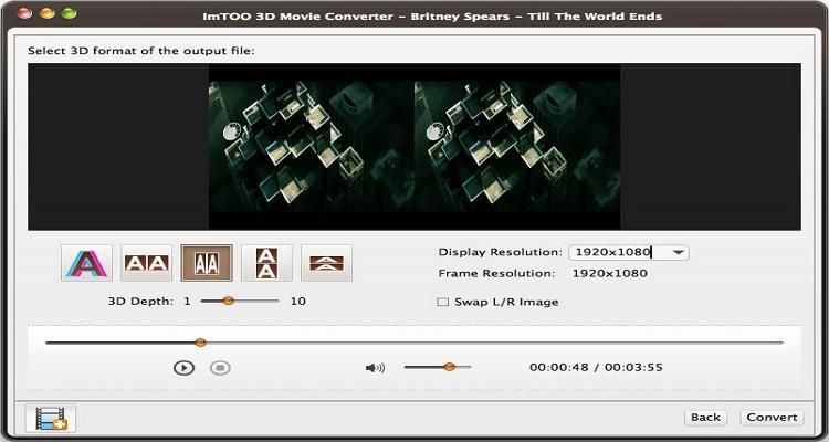 convert 2d to 3d video