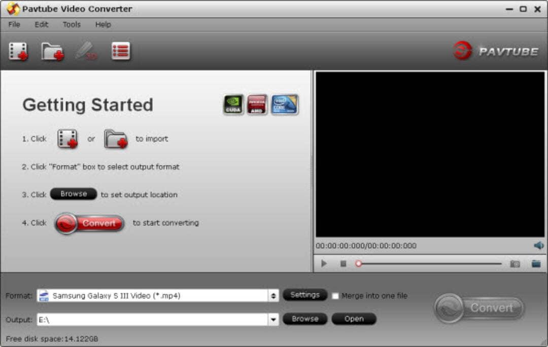 online VR converters- Pavtube Video Converter