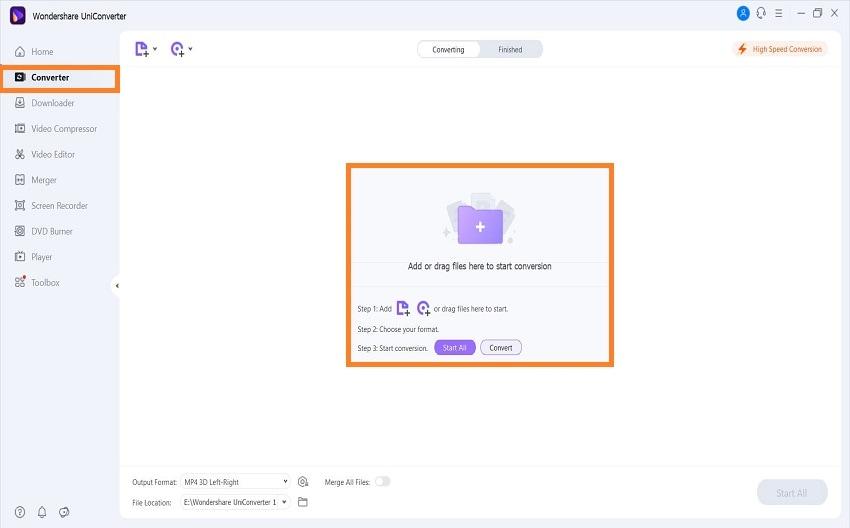 uniconverter add file