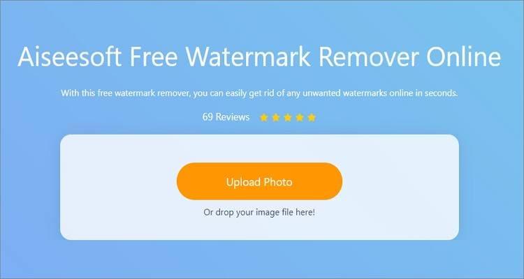 remove watermark on photos