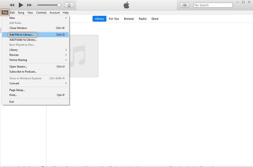 Add .wav files to iTunes Music