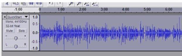 WAV Lautstärke erhöhen in Audacity