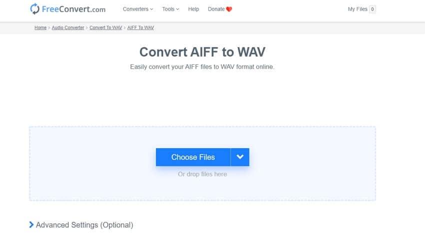 AIFF to WAV Converter - FreeConvert