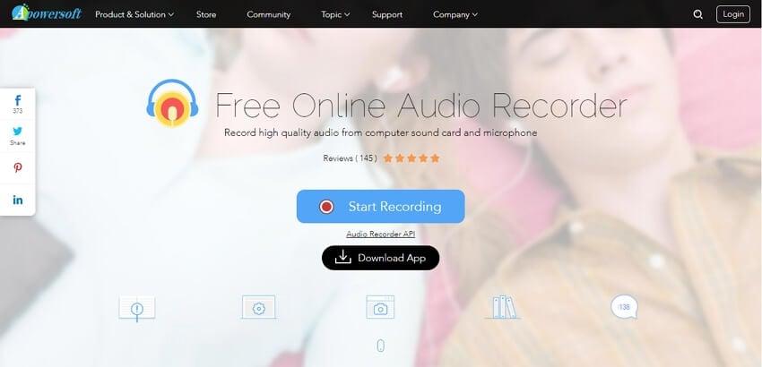 Record WAV - Apowersoft Free Online Audio Recorder