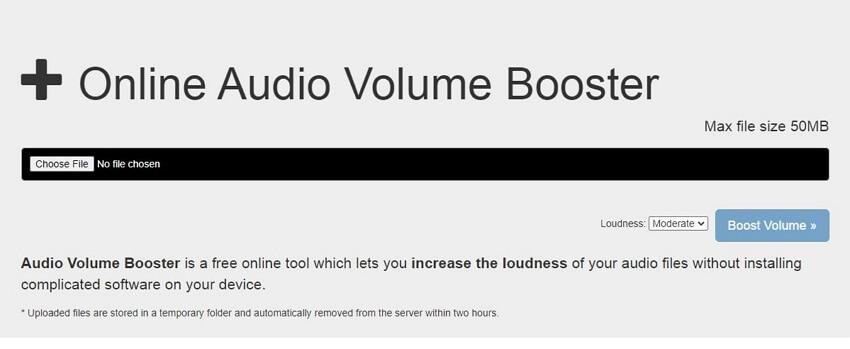 WAV volume booster - Audio Volume Booster