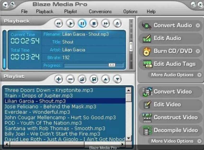 Record WAV - Blaze Media Pro