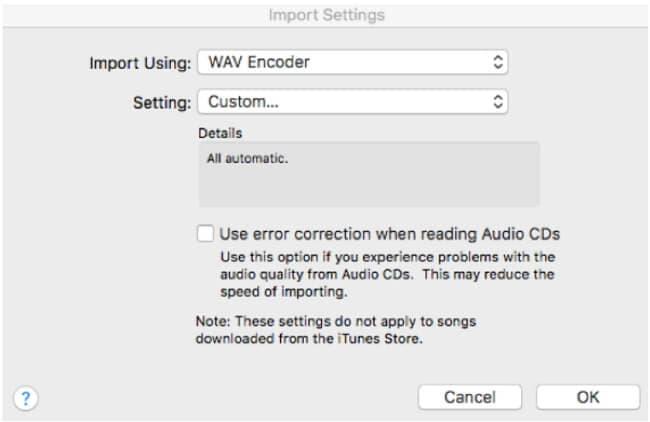 Change wav bit to 16 bit in iTunes