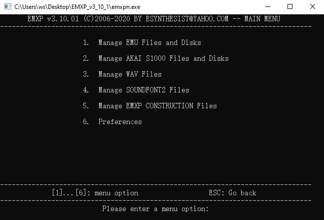 EXMP converter