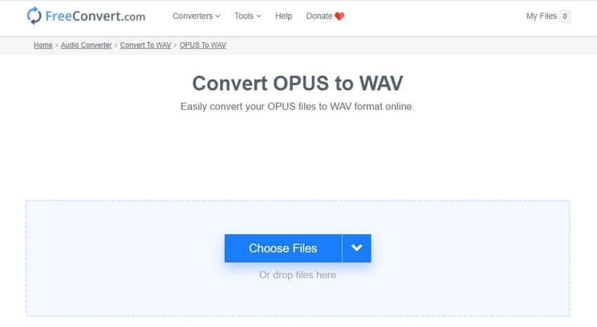 Opus to WAV Converter - FreeConvert
