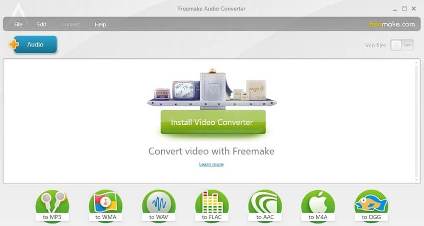 M4A to WAV Converter - Freemake Audio Converter