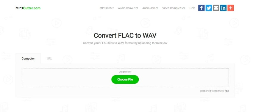 Convert FLAC to WAV with MP3 Cutter