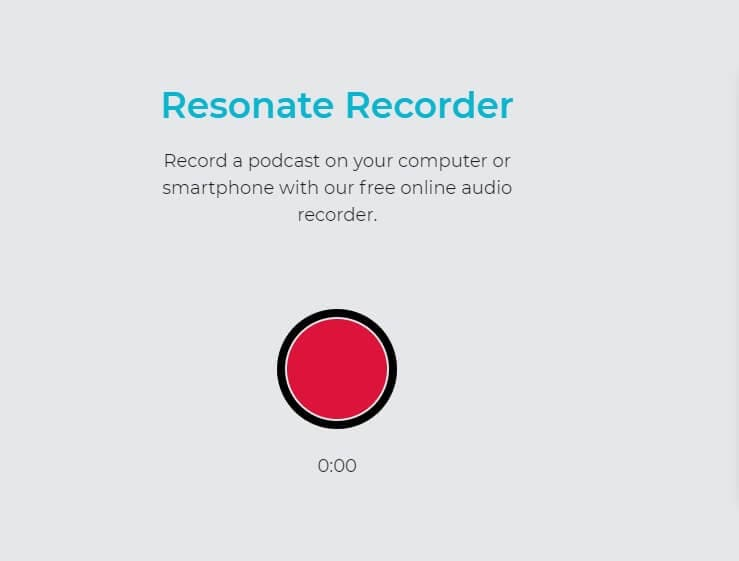 Record WAV - Resonate Recorder