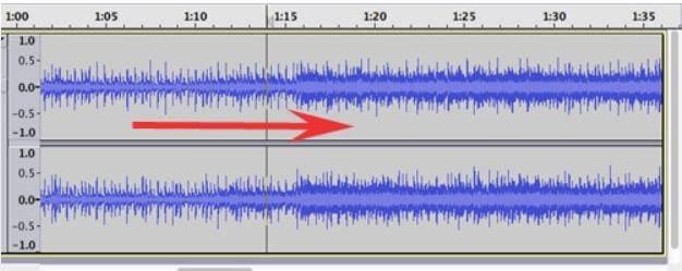 Lautstärke einer WAV Datei mit Audacity erhöhen