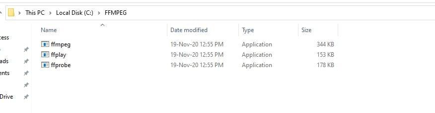 create the folder