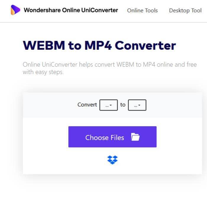 upload webm files