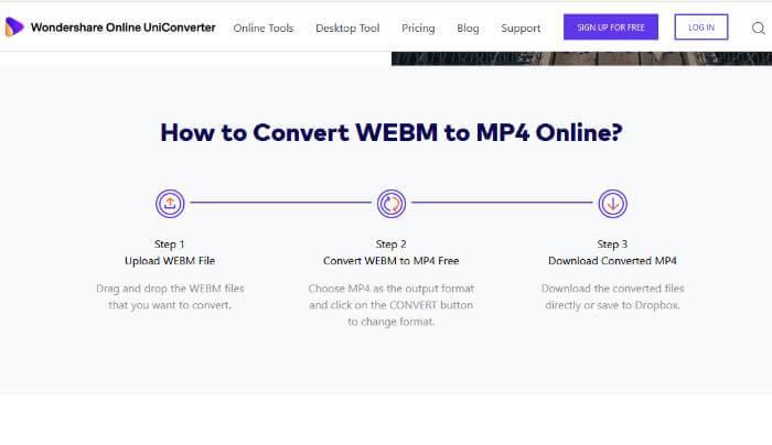 webm conversion process