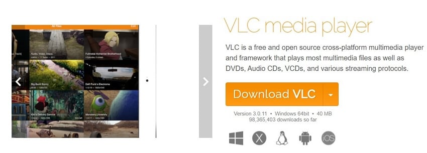 Convert 3GP to WMA with VLC