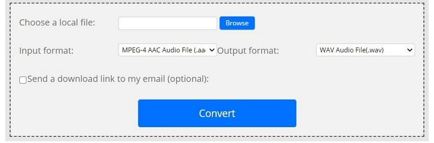 Convert AAC to WMA with ConvertFiles