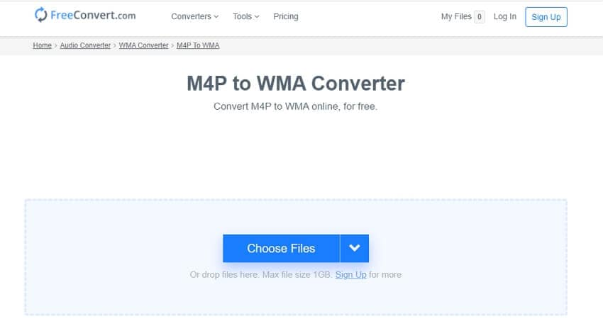 Convert WMA to FLAC withFreeConvert