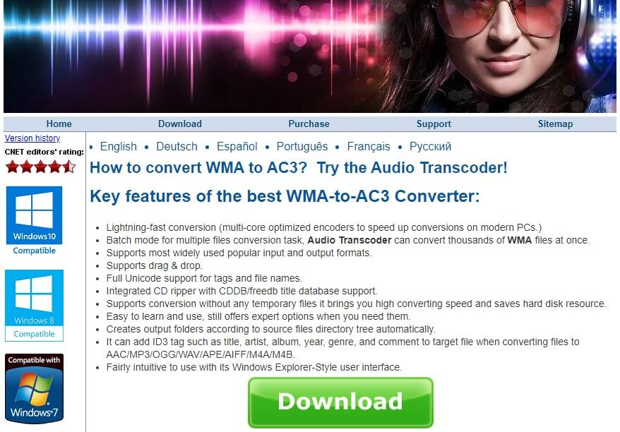 audio transcoder